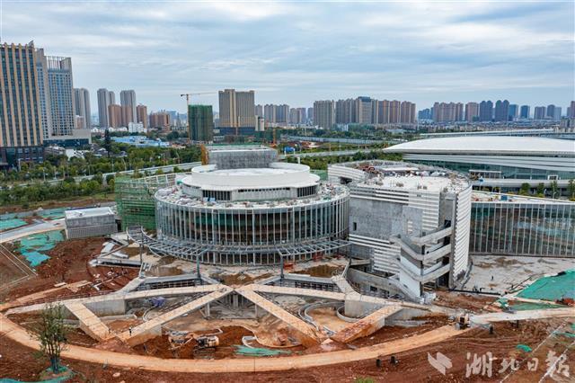 武汉又一地标性建筑群年底建成